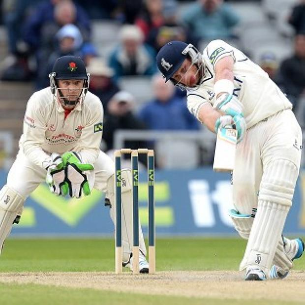 Andover Advertiser: Ian Bell's defiant half-century prevented Yorkshire taking full control
