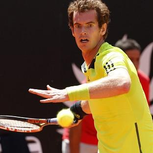 Andy Murray, pictured, defeated Marcel Granollers 6-2 7-5 (AP)