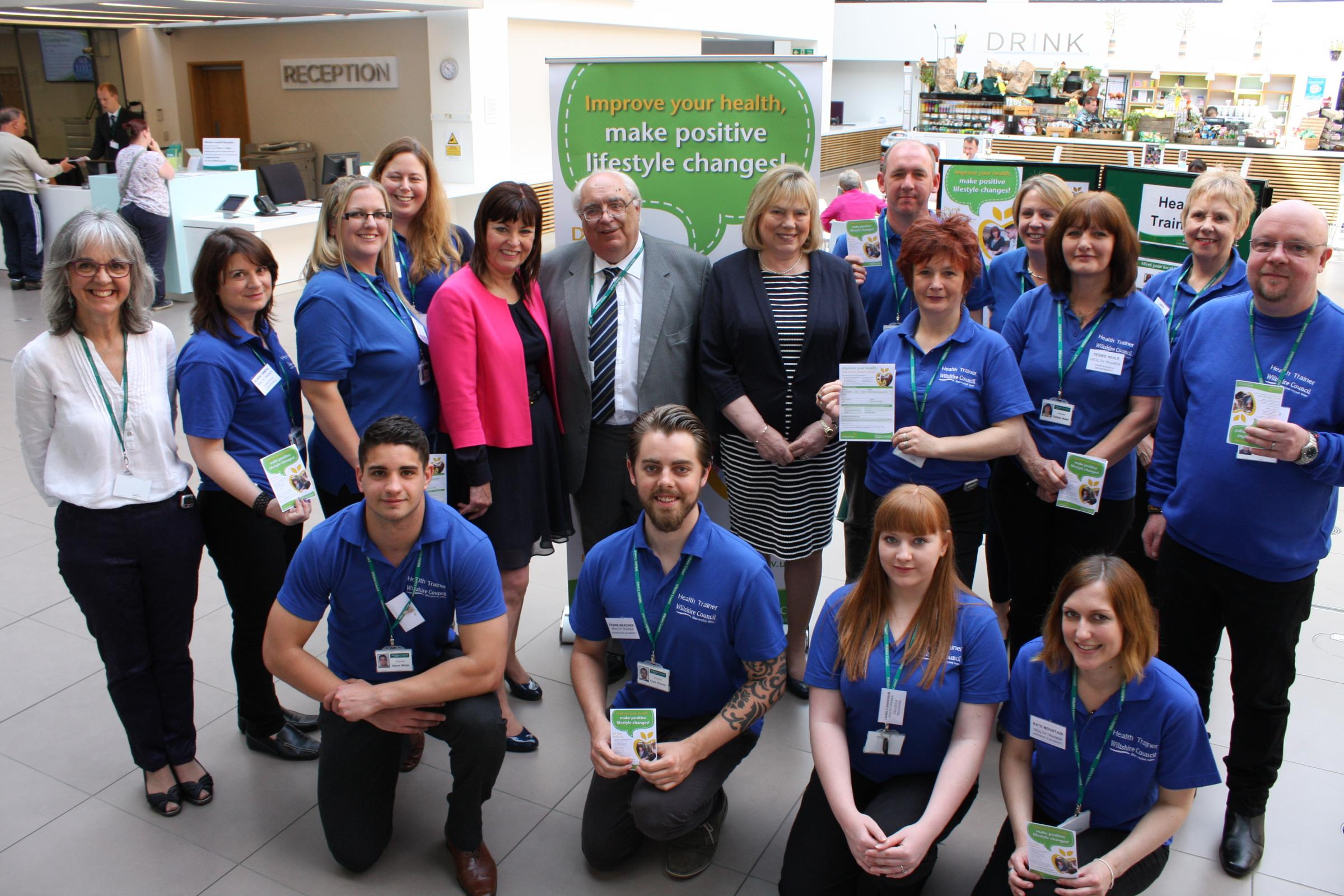 Health trainer programme rolls out across Wiltshire