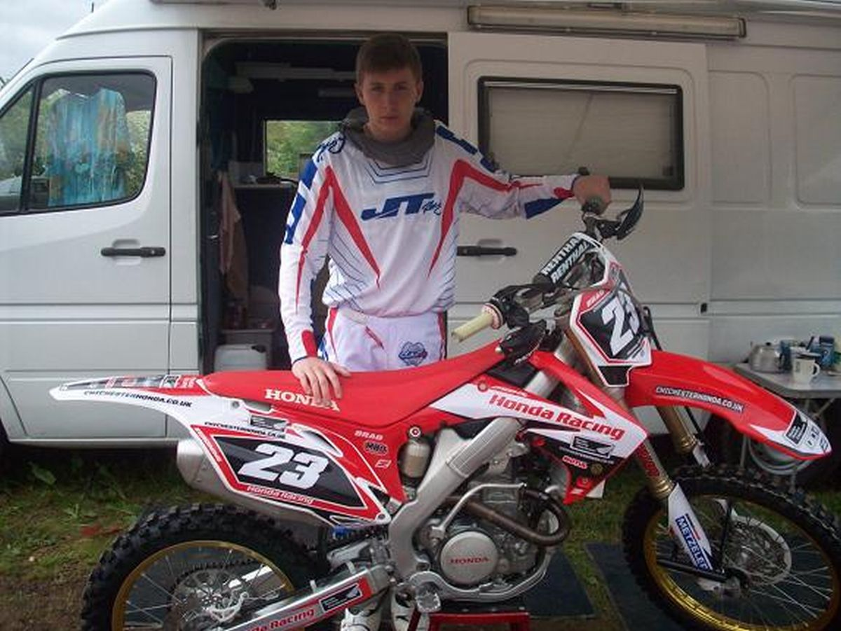 Bradley Hooper, 16, died after crash on MX track