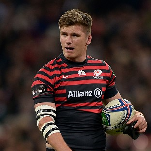 Owen Farrell wants to end on a high