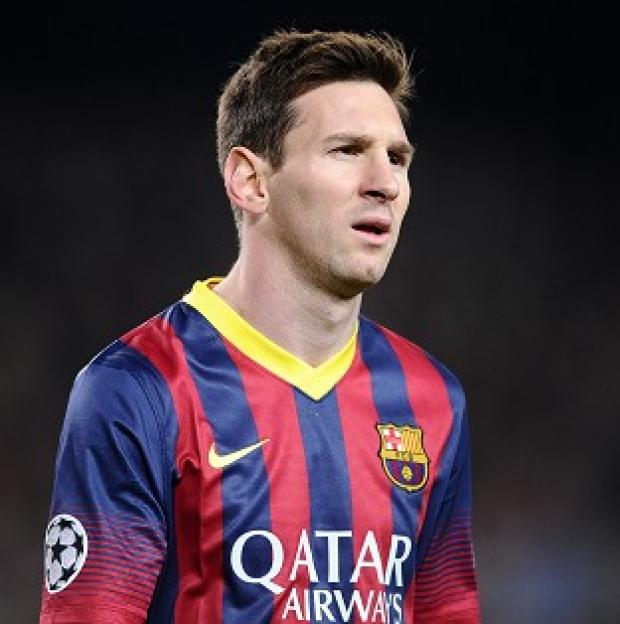 Andover Advertiser: Lionel Messi has only played for Barcelona since making his debut in 2004