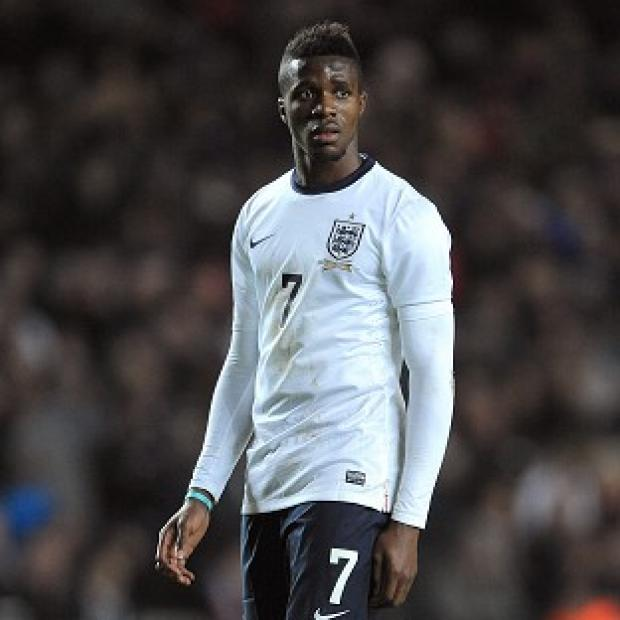 Andover Advertiser: Wilfried Zaha has been ruled out of Monday's England Under-21 match against Wales