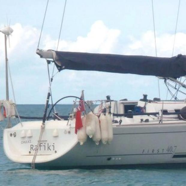 Andover Advertiser: The Cheeki Rafiki yacht and its four British crew are missing after the vessel capsized in the mid-Atlantic Ocean (Royal Yachting Association/PA)