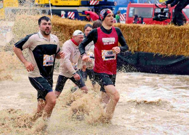 Andover man tackles 15 mile Nurburgring obstacle course