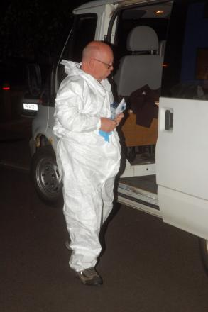 Radioactive material found at Tadley home identified. Picture by Paul King