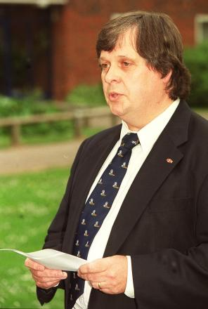 Richard Hilary during his time at Chamberlayne Park school