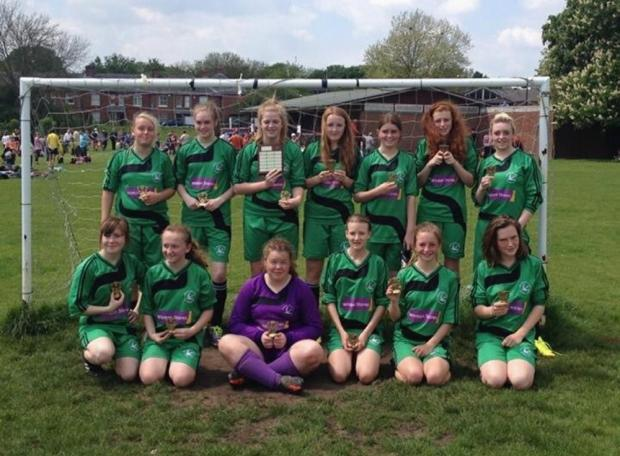 New Street Girls won the Winchester League Plate