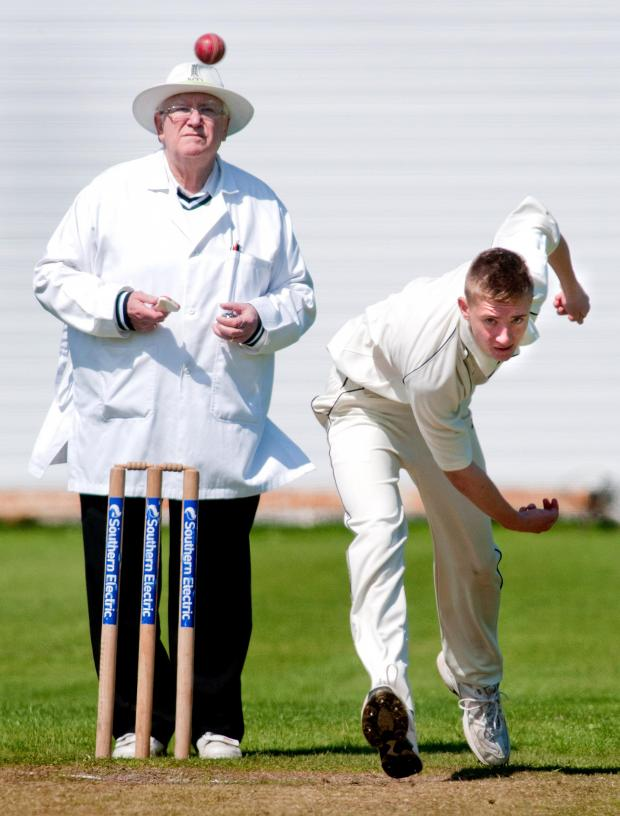Andover Advertiser: Ben Black impressed for the Redcaps on Saturday