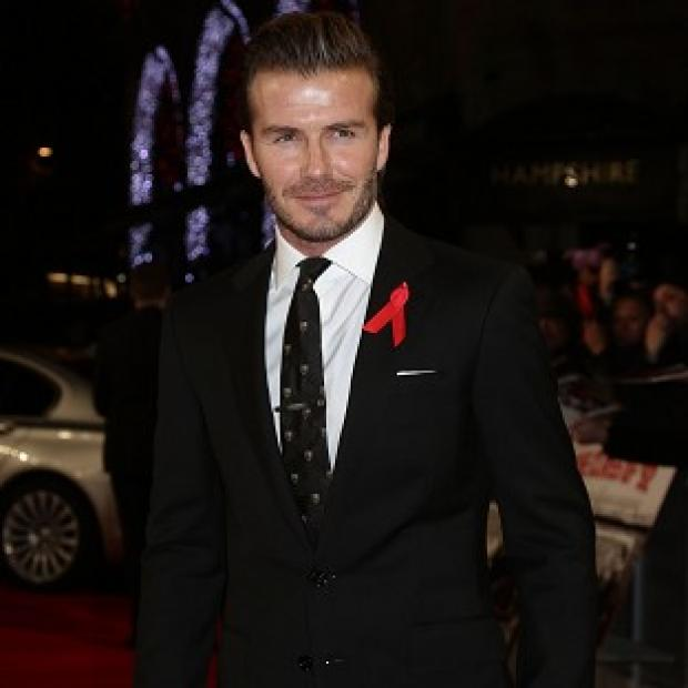 Andover Advertiser: David Beckham was pleased with the England squad picked for the World Cup