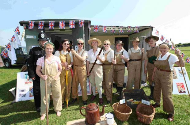 Land Girls at Large at Sparsholt College's 12th annual Countryside Day