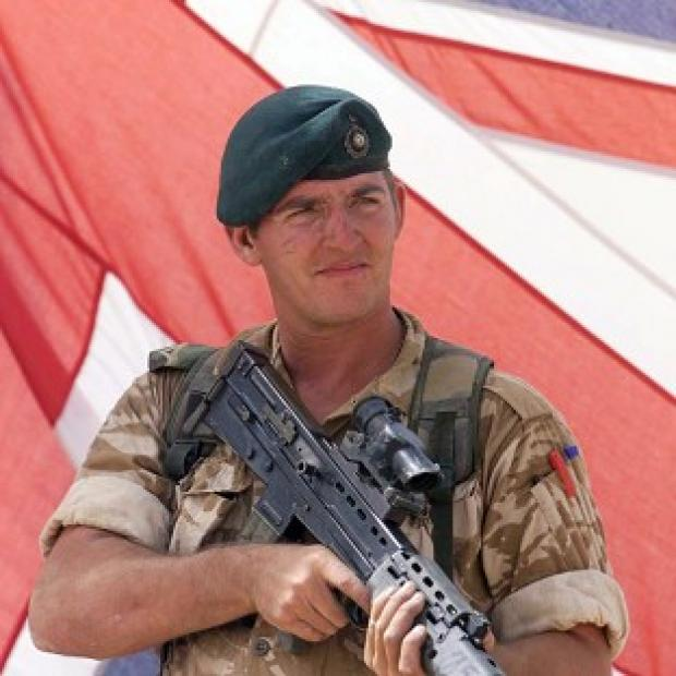 "Andover Advertiser: Sergeant Alexander Blackman was sentenced to life and ""dismissed with disgrace"" from the Royal Marines"
