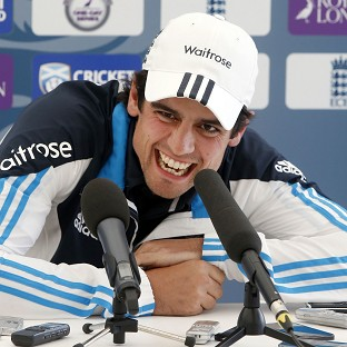 Alastair Cook does not feel under any more pressure than normal