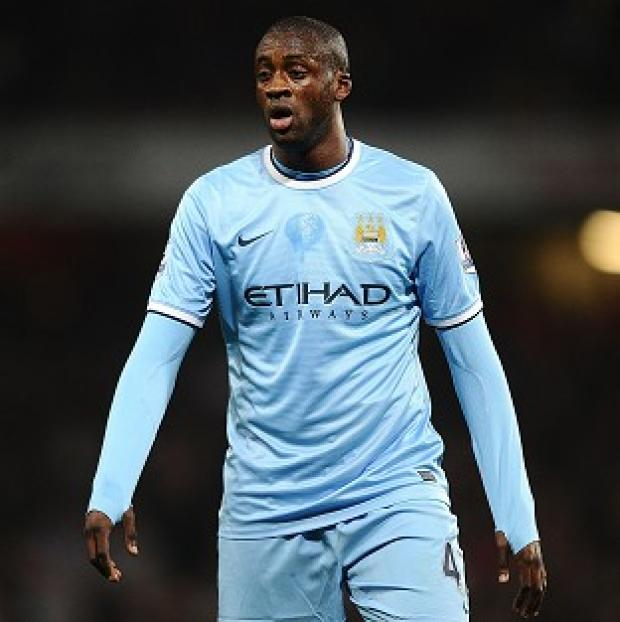 Andover Advertiser: Yaya Toure wants to remain at Manchester City after his playing days, according to his agent