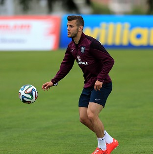 Jack Wilshere has been given England's number seven shirt for this summer's World Cup