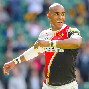 Tom Varndell went over for Wasps' opening try