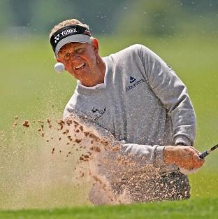 Colin Montgomerie won in America on Sunday night