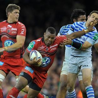 Steffon Armitage, centre, has still not been ruled out of Rugby World Cup action in 2015