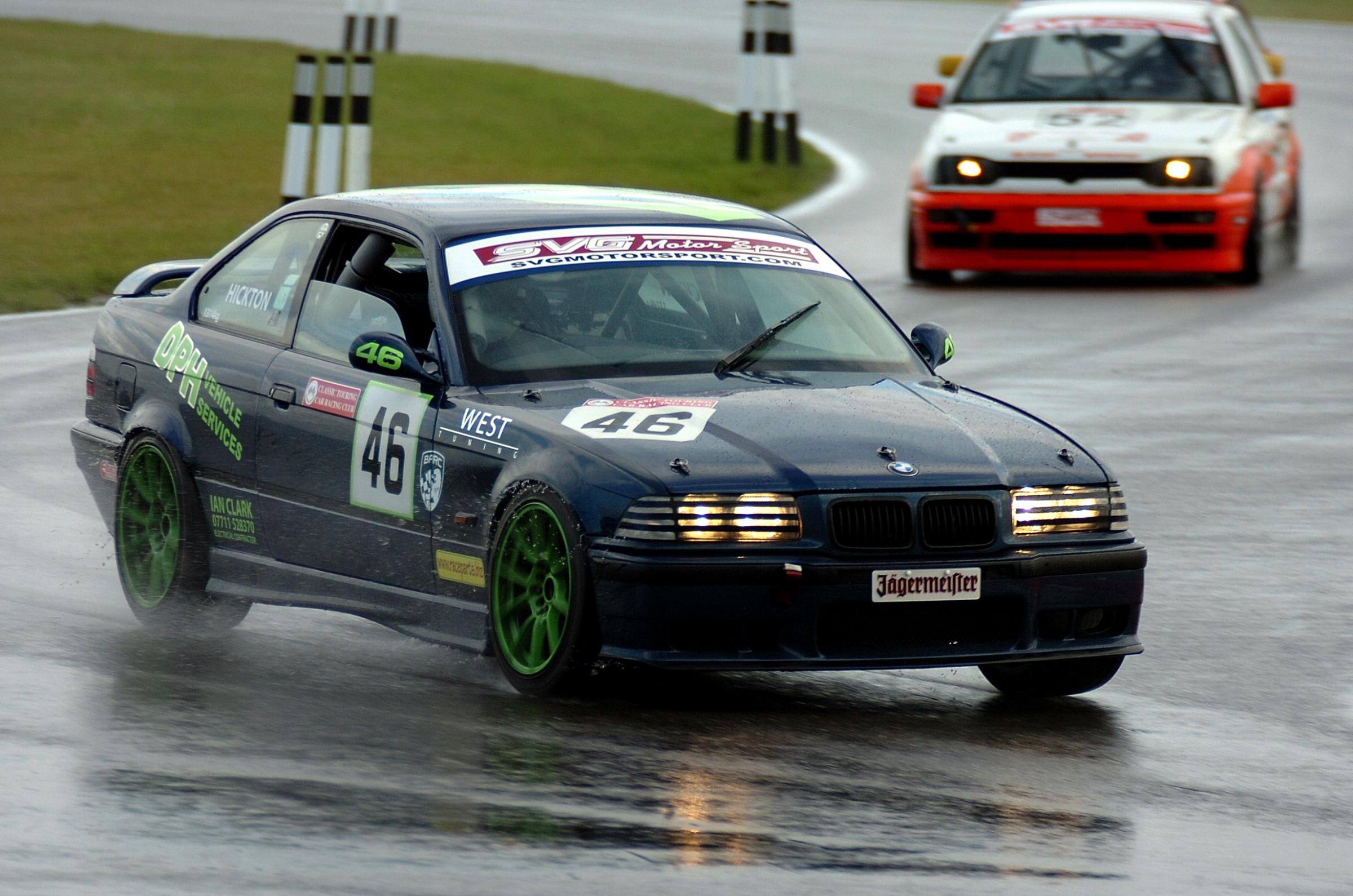 David Hickton at Snetterton. Words and picture: Derek Binsted