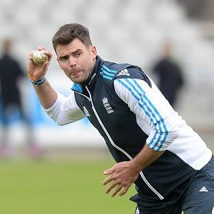 James Anderson will be giving captain Alastair Cook extra support in England's new era