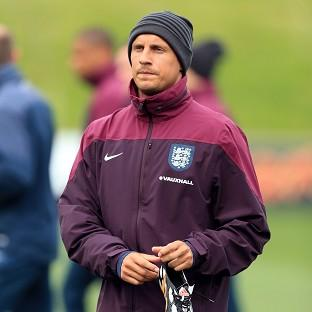 Phil Jagielka, pictured, is one half of Roy Hodgson's first-choice centre-back pair