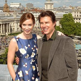Andover Advertiser: Emily Blunt and Tom Cruise star in Edge Of Tomorrow.
