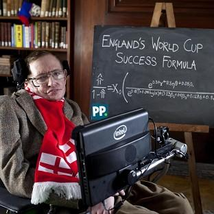 Professor Stephen Hawking unveils a new scienti