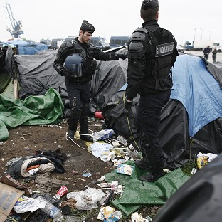 Calais migrant camps dismantled