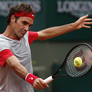 Roger Federer cruised to victory (AP)