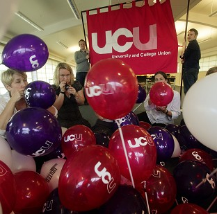 Members of the University and College Union have been told the coalition has a 'lamentable' record on education