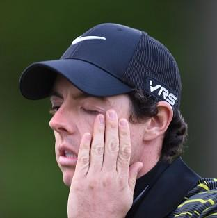 Rory McIlroy had a day to forget at Muirfield Village