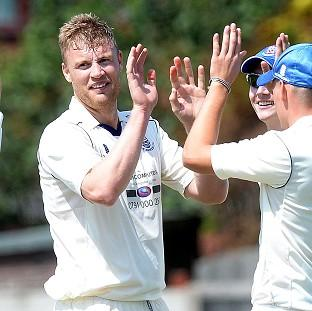 Andrew Flintoff was among the wickets for St Annes