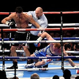 Carl Froch delivers the punch that saw off George Groves