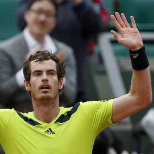 Andy Murray beat Philipp Kohlschreiber 12-10 in the fifth set in their third-round match at the French Open (AP)