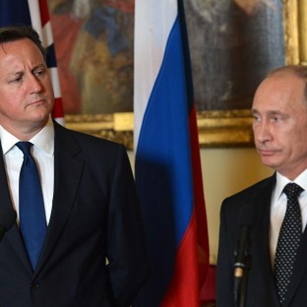 Andover Advertiser: Prime Minister David Cameron and Russian President Vladimir Putin are to hold face-to-face talks on the Ukraine crisis