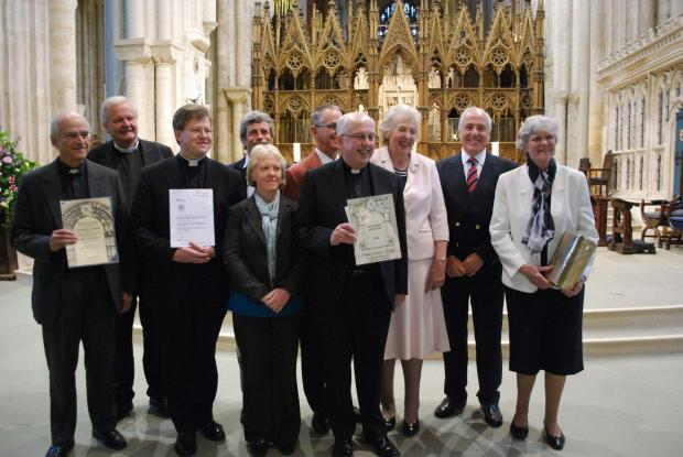 The trust marked the end of a year of events with a special service