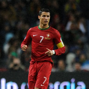 Cristiano Ronaldo is battling tendinitis around his left knee as well as a thigh problem