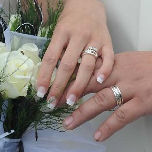 Andover Advertiser: The Government is being urged to bring forward laws to include details of the bride and groom's mothers on marriage certificates