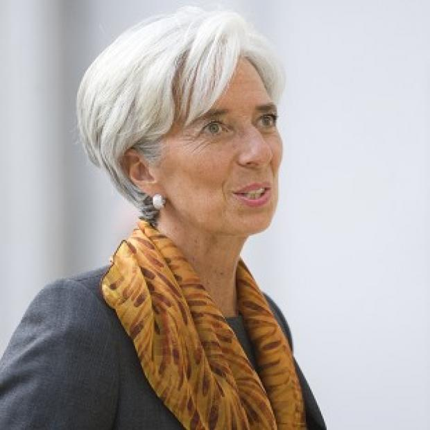 Andover Advertiser: Christine Lagarde has said she is 'not a candidate' in the race to be president of the European Commission