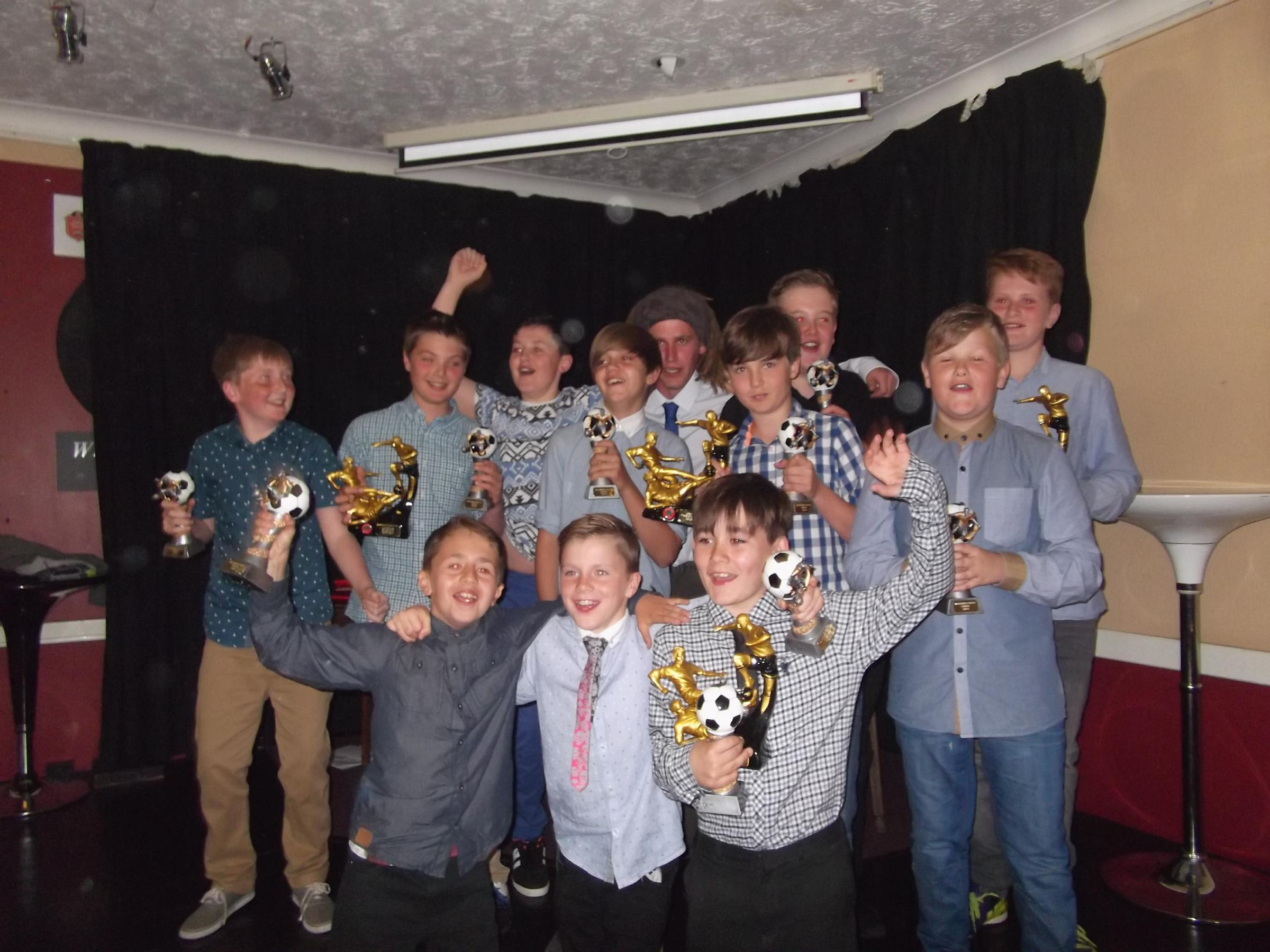 Wolversdene Youth's presentation night could be the last unless they can recruit more 12 year olds for August
