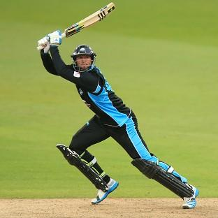 Ross Whiteley hit the winning runs for Worcestershire Rapids