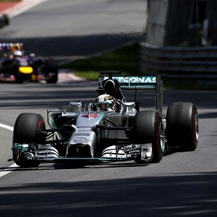 Lewis Hamilton suffered in Montreal (AP)