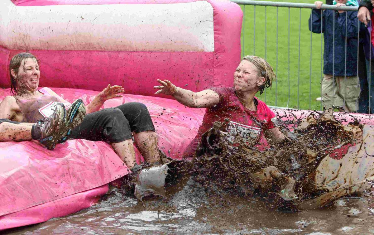 Winchester women get 'Pretty Muddy' for charity