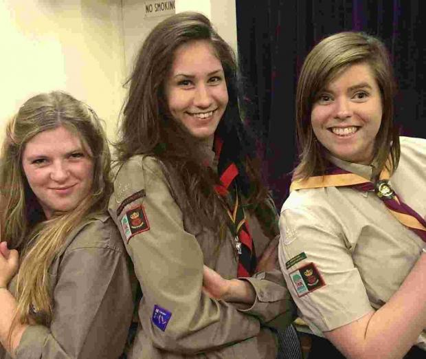 Andover Scouts receive highest honour