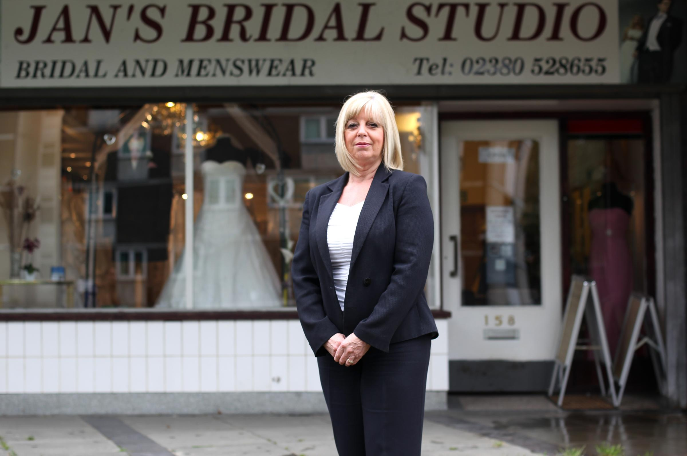 Janet Bowen is fed-up with drinkers using her shop doorway as a urinal after nights out