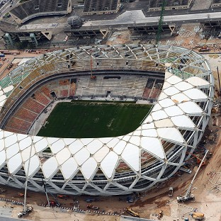 There have been concerns over the pitch at the Arena da Amazonia in Manaus