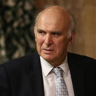 Andover Advertiser: Business Secretary Vince Cable was forced to deny he was part of a plot to oust Nick Clegg