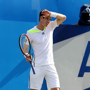 Andy Murray will play just one more match before defending his Wimbledon crown