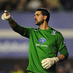 Julian Speroni has penned a new deal at Crystal Palace