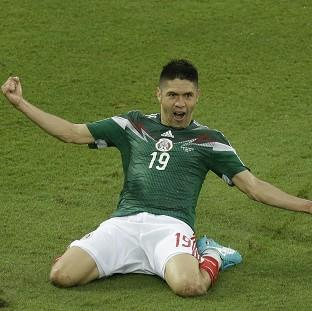 Oribe Peralta netted the winner for Mexico (AP)